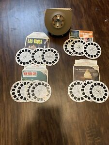 Vintage-untested-GAF-Sawyer-s-Viewmaster-No-2062-Lighted-Viewer