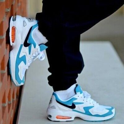 Détails sur NIKE AIR MAX 2 Light Qs Homme Baskets UK 9 US 10 Eur 44 afficher le titre d'origine