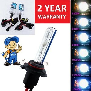 Image Is Loading 2x Dc 55w Xenon Headlight Bulbs Replacement Light