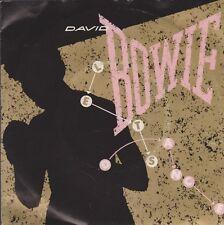 "7"" Single David Bowie Let`s Dance / Cat People (Putting On Fire) 80`s EMI"
