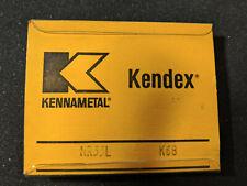 5 New Kennametal Nr33l K68 Carbide Grooving Cut Off Inserts