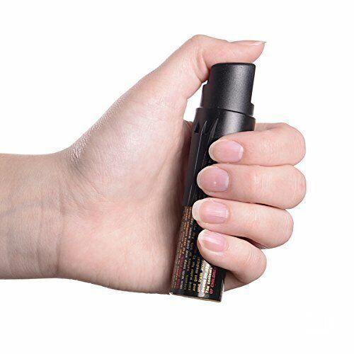 Sabre-Red Tierabwehr Pfeffer-Spray Reiz-Gas KO-Spray mit Trage-Clip /& UV-Marker