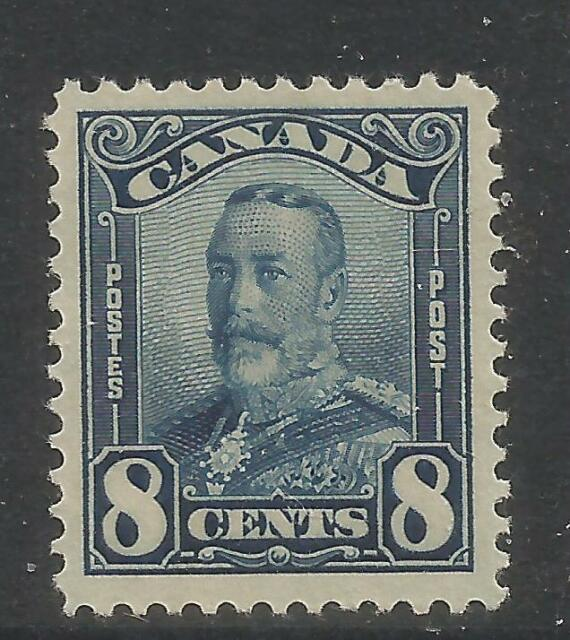 Canada 1928-29 King George V 8c blue (154) MH