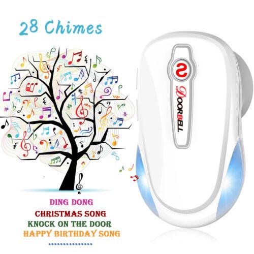 Premium Wireless Gate Entry Door Bell Welcome Chime Alert Alarm