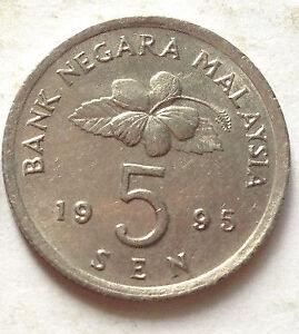 Parliament-Series-5-sen-coin-1995