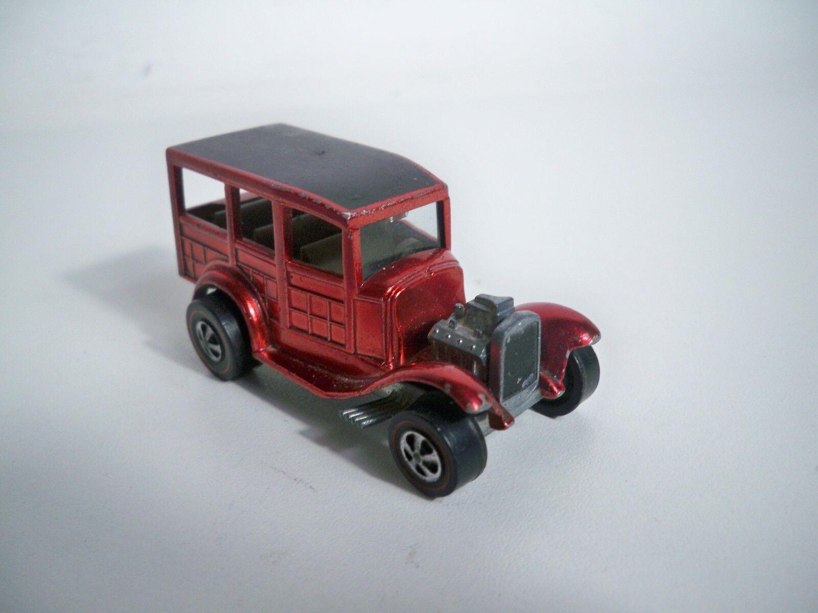 K189982 HOT Wtalons discriminatoires  1968 CLASSIC 31 Ford boisy Rouge Vintage Original  bas prix