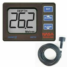 NASA Marine Clipper DEPTH Sounder System with Transducer /& Cover│CLIP-DEPTH│20mA