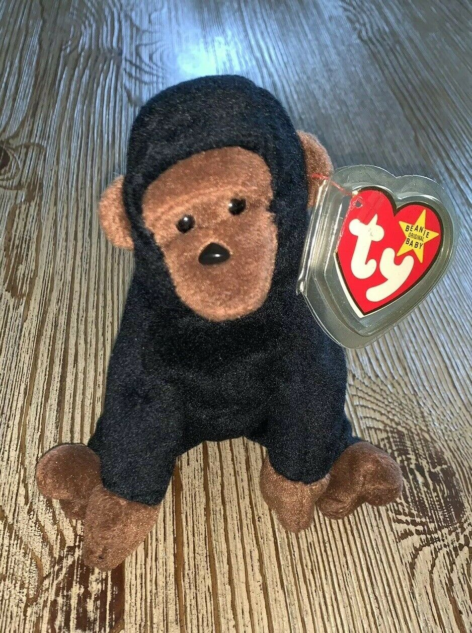 TY Beanie Baby 1996 Congo, Rare, Tag Errors, Mint Mint Mint Condition d4113e