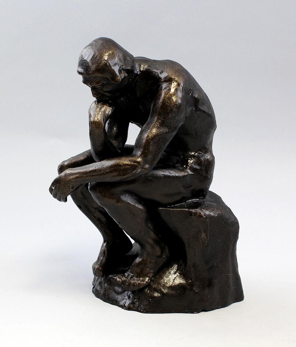 9937282 metal-escultura de Rodin-plástico pensador