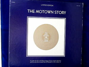 Motown Story Limited Edition 58 Hits Interviews 5 Lp Set