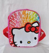 HELLO KITTY SANRIO 10'' SMALL MINI TODDLER RAINBOW BACKPACK TOTE BAG