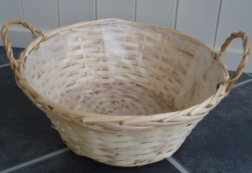TOP QUALITY NEW WICKER BASKET USE FOR FRUIT BREAD GIFT FLOWER PLANTS.