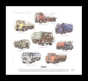 British-Lorries-Foden-AEC-Seddon-Scammel-ERF-Art-Print