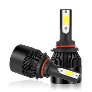 2Pcs-9006-Bombilla-Faro-Lampara-HB4-Coche-LED-COB-9000LM-Impermeable-72W-Blanco