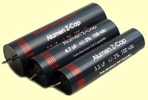 1-pc-Jantzen-Audio-High-End-ALUMEN-Z-Cap-4-7uF-100VDC-3-23x75mm
