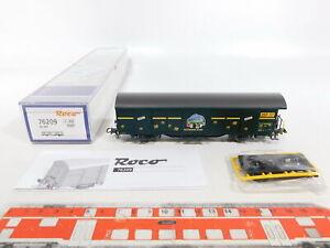 CI838-0-5-Roco-H0-DC-76209-Postgueterwagen-Post-Postzentrum-Luzern-NEM-NEUW-OVP