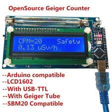 Diy Open Source Geiger Counter Meter Kit Miller Gm Tube Detector Radiation Lcd