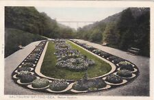SALTBURN-BY-THE SEA  STATION GARDENS BY PEACOCK NO. 206, POSTED 1905