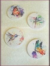 NATURE COASTER SET OF 4 BY DEAN CROUSER BIG SKY CARVERS FREE U.S. SHIPPING