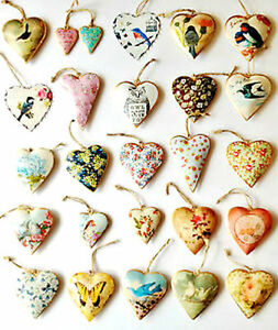 NEW-VINTAGE-STYLE-HANGING-METAL-HEARTS-BIRDS-amp-FLOWERS-DECORATION-GIFTS
