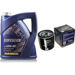 Olwechsel-Set-5-Liter-MANNOL-Defender-10W-40-SCT-Olfilter-Service-10164113