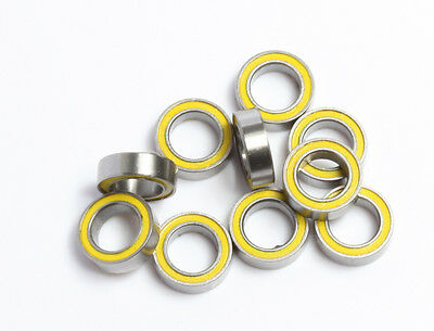 ROULEMENT A BILLES MR85 2RS 5X8X2.5 BEARING RODAMIENTO pour TAMIYA HPI HB 4pcs