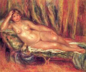 """high quality 24x20  oil painting handpainted on canvas """"nude on the sofa"""""""