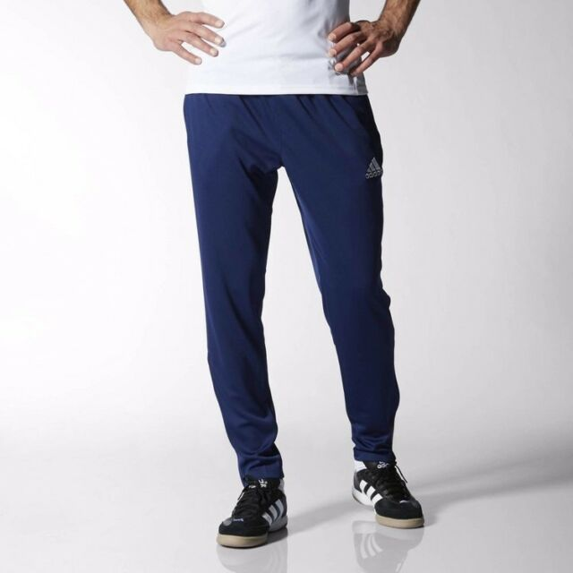 adidas Core 15 Track Pants Tracksuit Bottoms Blue M for sale online ... ef23f911b