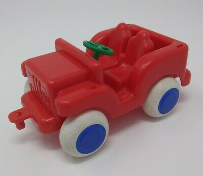 Vintage Viking Toys Sweden 1081 Red Plastic Toy Jeep Truck Rare Collectible Ebay