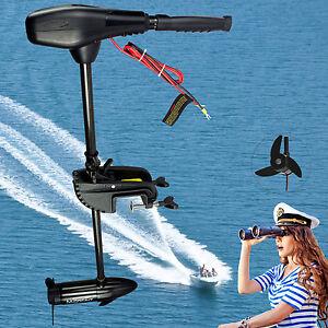moteur lectrique hors bord pour barque bateau pneumatique 68 lbs ebay. Black Bedroom Furniture Sets. Home Design Ideas