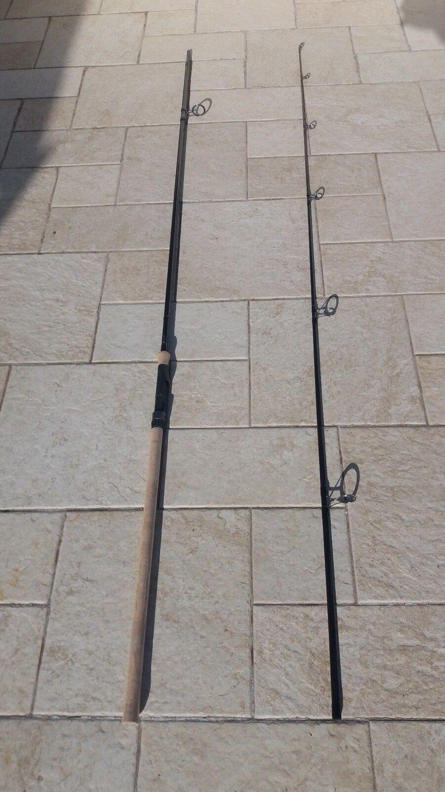 Lotto 3 canna da pesca carpfisshing Fox Warrior