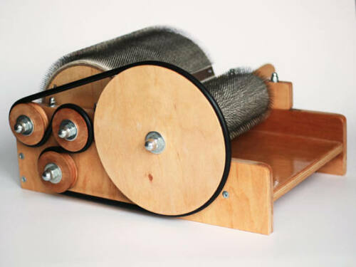 UncleKolya/'s Drum Carder for wool 72tpi