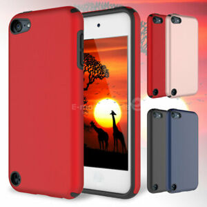 PC-Dirt-Dust-Shockproof-Rubber-Matte-Hard-Case-Cover-For-iPod-Touch-6th-5th-Gen