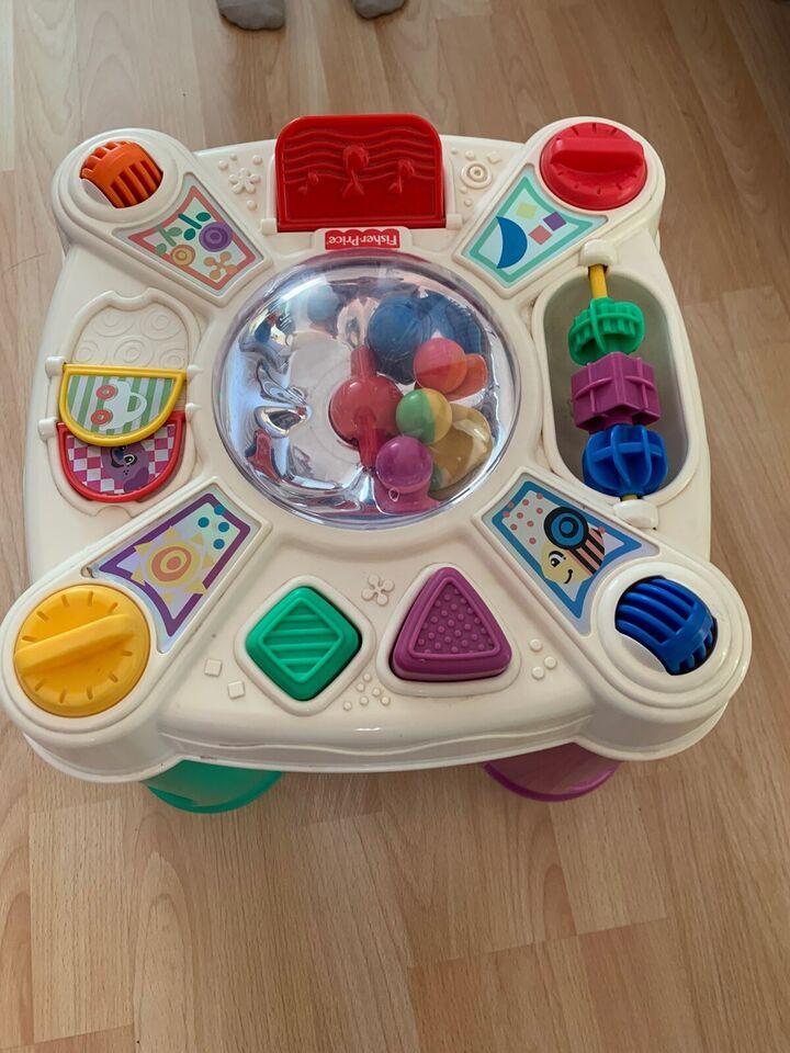 Aktivitetsbord, Fisher Price , aktivitetslegetøj