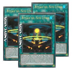 • Ultra R • BLRR IT014 Yugioh! Litmus Doom Ritual 3x RITUALE DEL FATO LITMUS •