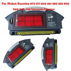 Details about For iRobot Roomba 870 860 880 885 960 980 Vacuum Cleaner Dust  Bin W/Filter New