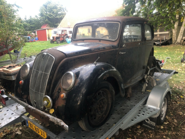 Morris Eight, 0,9 Saloon, Benzin, 1947, km 75000, sort,…