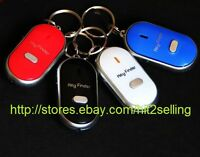 Key Finder Chain Ring Locator Whistle Control Auto Car Van Key Chain Usa Seller