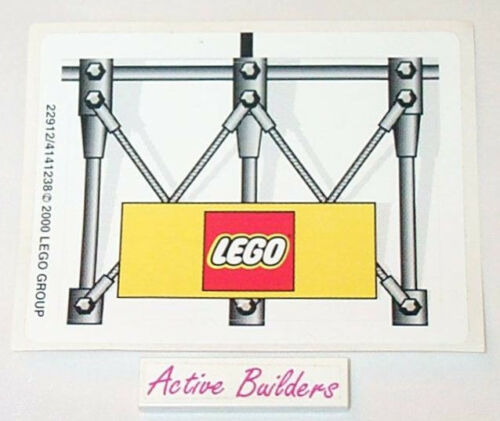 Lego Logo Trademark Sign NEW Condition Lego STICKER SHEET