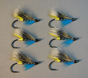 Blue Charm Atlantic Salmon Flies - 6 Fly MULTI-PACK ...