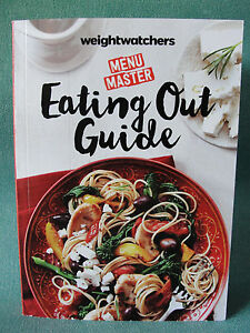 weight watchers 2016 2017 smart points eating out guide restaurant food book ebay. Black Bedroom Furniture Sets. Home Design Ideas