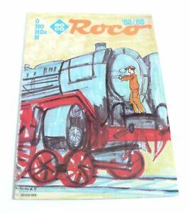 Consciencieux Catalogue Roco 0 H0 H0e N De 1982/83-afficher Le Titre D'origine PréVenir Et GuéRir Les Maladies