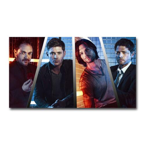 Supernatural Car TV Series Art Silk Canvas Poster 12x21 24x43 inch