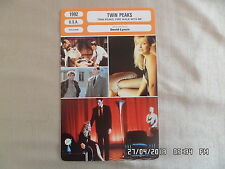 CARTE FICHE CINEMA 1992 TWIN PEAKS Sheryl Lee Kyle Mac Lachlan Ray Wise