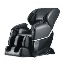 New Electric Full Body Shiatsu Massage Chair Foot Roller Zero Gravity w/Heat