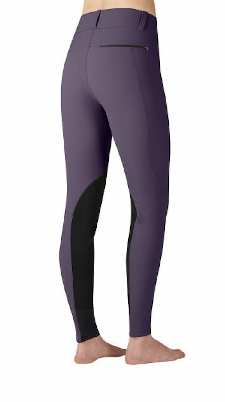 Kerrits Trekker (Knee Patch) Breech-S-Eggplant