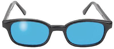 X - KD's 20% bigger biker sunglasses Turquoise lenses 1129 new