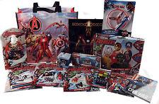 Marvel Vengadores 13 piezas Conjunto de 2016 Mega Navidad en Bolsa Shopper Regalo