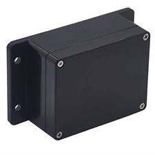 Raculety Project Box Ip65 Waterproof Junction Box Abs Plastic Black Electrical X