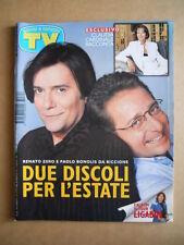 TV SORRISI E CANZONI 26 1997 Renato zero Paolo Bonolis Claudia Cardinale  [G593]